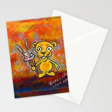 BUNNY CREAM Stationery Cards