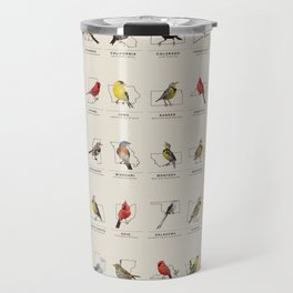 50 State Birds Travel Mug