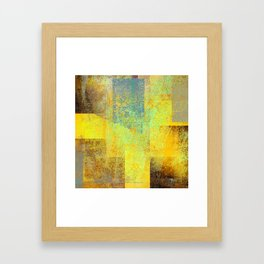 rising concern 2c Framed Art Print