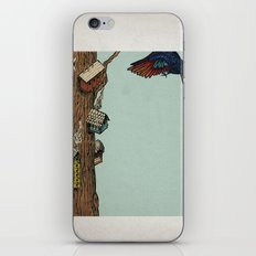 Bird House iPhone & iPod Skin