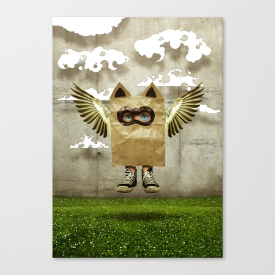 Fly try Canvas Print
