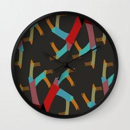 Oddly Fun Abstract Wall Clock