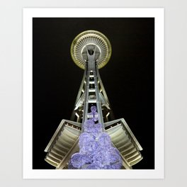 The Space Needle  Art Print
