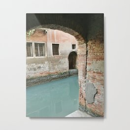 Looking to the Canal Metal Print