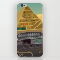 egypt iPhone & iPod Skins featuring Egypt by Xènia Castellví
