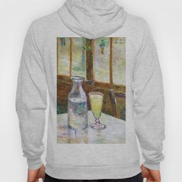 Cafe Table With Absinth - Digital Remastered Edition Hoody