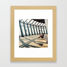 Tangents Framed Art Print