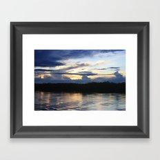 Amazonian Water Framed Art Print
