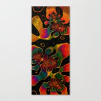 trippy Canvas Prints featuring Trippy by Amanda Moore