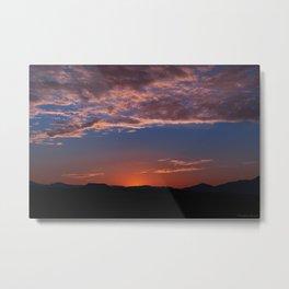 SW Summer Mt Sunrise - I Metal Print