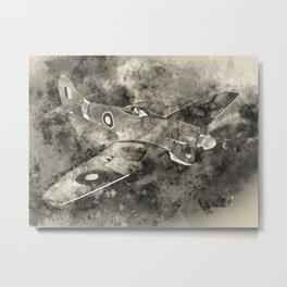 Hawker Tempest Metal Print