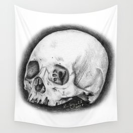 Tiny Skull Wall Tapestry