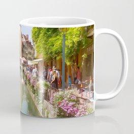 Riverfront Village Artwork Coffee Mug