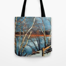 Scarborough Marsh Tote Bag