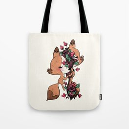 Love Starts in You Tote Bag
