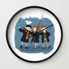 Friendship and magic Wall Clock
