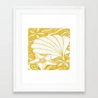 marine Framed Art Prints featuring marine by Maritserg