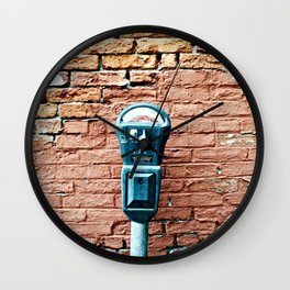 Parking Meter Wall Clock
