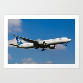 Air New Zealand Boeing 777 Art Print