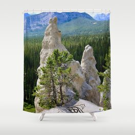 hoodoo magic Shower Curtain