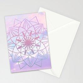 Star Mandala Unicorn Pastel Clouds #1 #decor #art #society6 Stationery Cards