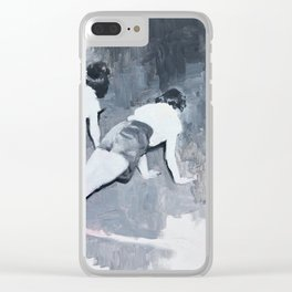 Push-ups Clear iPhone Case
