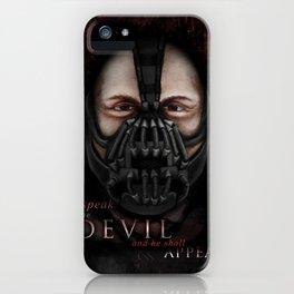 Bane Portrait iPhone Case