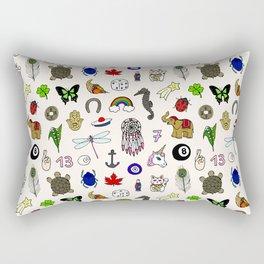 Lucky charms pattern Rectangular Pillow