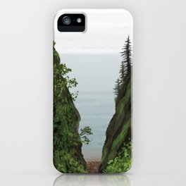 cape split iPhone Case