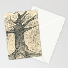The old tree Stationery Cards
