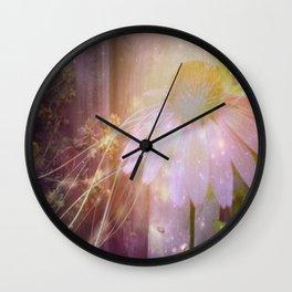Space Garden. Wall Clock