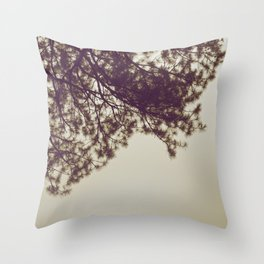 PINE BRANCH Throw Pillow