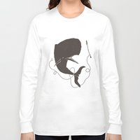 dick Long Sleeve T-shirts featuring Moby Dick by Daniel Feldt