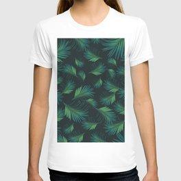 Tropical Night Palms Pattern #1 #tropical #decor #art #society6 T-shirt