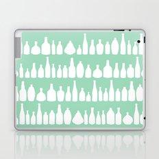 Bottles Mint Laptop & iPad Skin