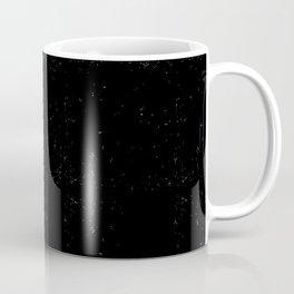 I WANT TO BLACK AND WHITE Coffee Mug