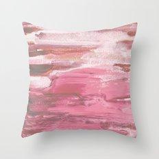 Soft Pink Throw Pillow
