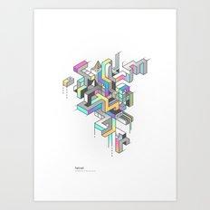 Tetral Art Print