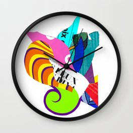 Only We Know In This Silence Wall Clock