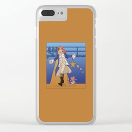 February Clear iPhone Case