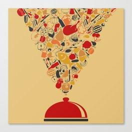 Dish Canvas Print