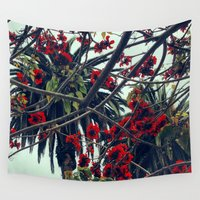 san diego Wall Tapestries featuring San Diego Blossoms by Jason Simms