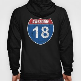 Cool Awesome 2002 Sign for 18th Birthday Hoody