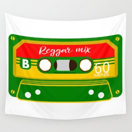REGGAE MIX TAPE Wall Tapestry