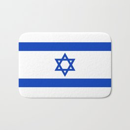 Flag of the State of Israel - High Quality Image Bath Mat