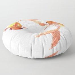 Goldfish Feng Shui, Koi Fish Floor Pillow