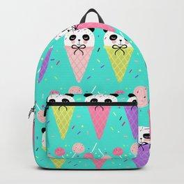Ice Cream Panda Candy Shop Backpack