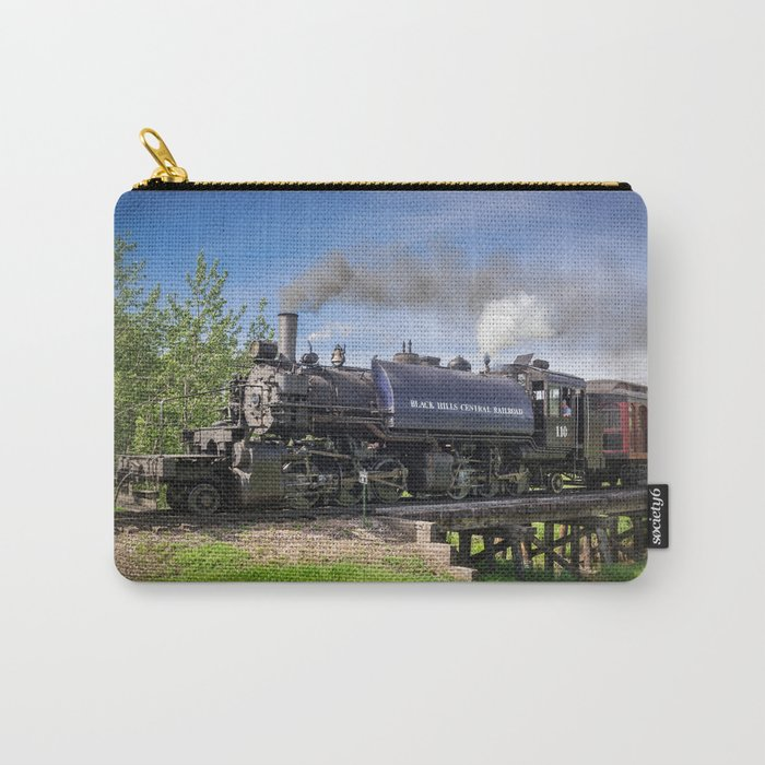 Full Steam Ahead Carry-All Pouch