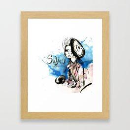 Swan Princess Framed Art Print