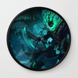 Classic Thresh League Of Legends Wall Clock